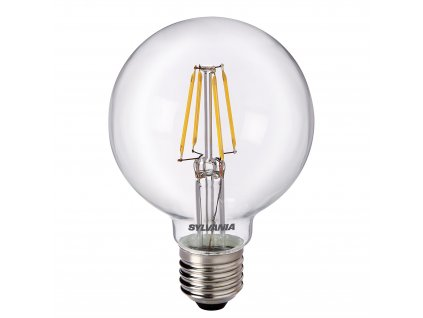 Retro LED žárovka ToLEDo RT G80 V3 CL 470Lm 827 E27 SL