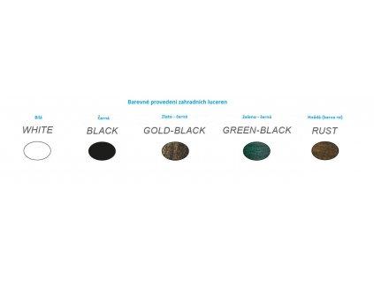 Venkovní závěsná lucerna HI6175V max. 60W/E27/IP45, Green-black
