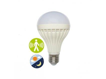 SMD LED Smart Light-Sense A60 8W/E27/230V/3000K/560Lm/200°, soumrakový a pohybový senzor