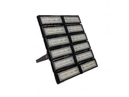 LED venkovní slim reflektor MAGNUM 600W/230V/5000K/60000Lm/60°/IP66/IK8, černý