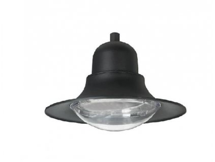 LED parkové osvětlení PAGODA 30W/230V/2700K/2950Lm/120°/IP65/šedé