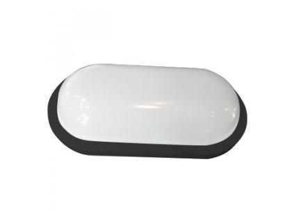 LED přisazené svítidlo DIDO 20W/230V/3000K/1800Lm/120°/IP65/IK08, oválné černé