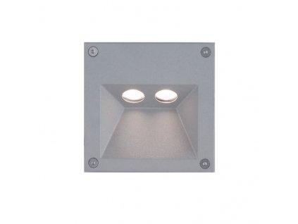 LED venkovní nástěnné svítidlo TALT 4W/230V/3000K/327Lm/30°/IP65, šedé