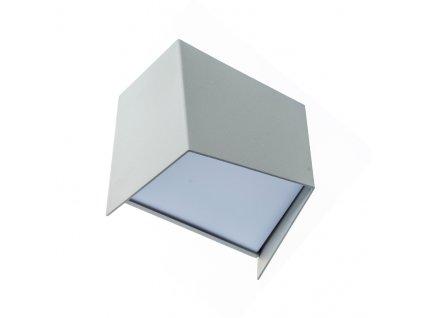 LED venkovní nástěnné svítidlo FORMER 4W/230V/3000K/190Lm/120°/IP44, šedé