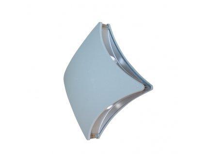 LED venkovní nástěnné svítidlo ASTER 4W/230V/3000K/200Lm/84°/IP44, šedé