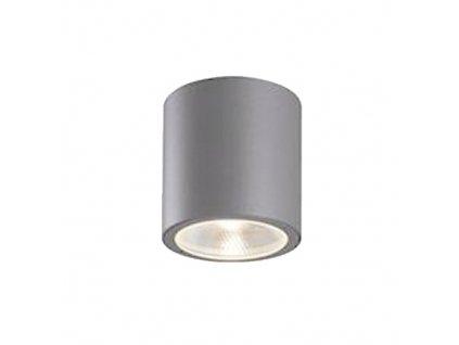 LED venkovní stropní svítidlo ANCO 7W/230V/3000K/373Lm/20°/IP54, šedé
