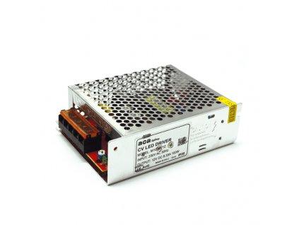 LED napájecí zdroj 230V AC ->12V DC/100W/8A/IP20