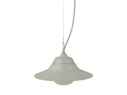 Venkovní závěsné svítidlo JULIE max. 60W/E27/230V/IP44, šedé