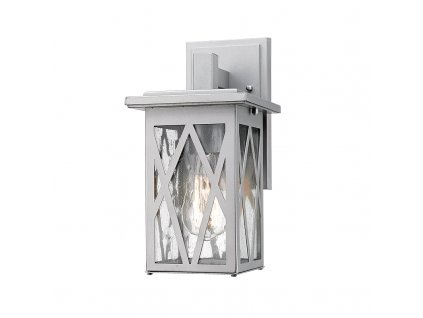 Venkovní nástěnné svítidlo NISSA max. 60W/E27/230V/IP44, bílé