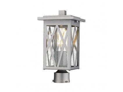 Venkovní sloupkové svítidlo NISSA max. 60W/E27/230V/IP44, bílé