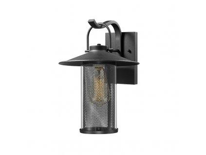Venkovní nástěnné svítidlo ROSSA max. 60W/E27/230V/IP44, černé