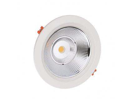 COB LED bodovka PARO 50W/230V/3000K/4100Lm/IP20/90°, kruhová bílá