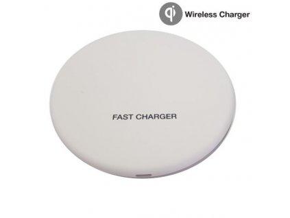 Rychlonabíječka Wireless Charger VT-1210 White 10W - 5V-DC/1A, 9V-DC/1,2V