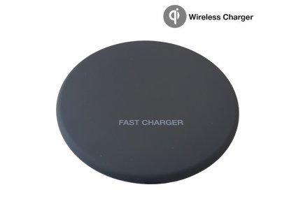 Rychlonabíječka Wireless Charger VT-1210 Black 10W - 5V-DC/1A, 9V-DC/1,2V