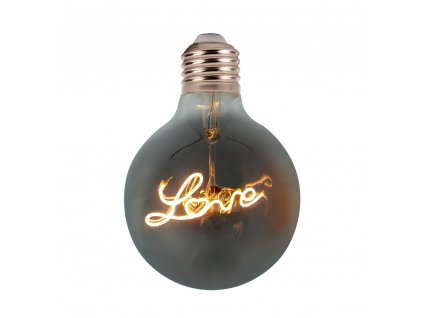 LED Filament žárovka Globe G125 Special 3D 5W/230V/E27/2200K/70Lm/300°/B