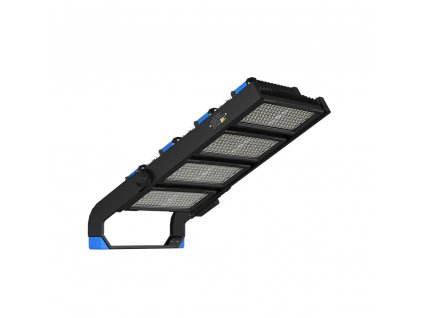 LED reflektor Super Pro 1000W/230V/4000K/125000Lm/60°/IP66/Dim/Mean Well, černý