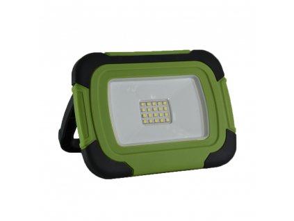LED přenosný dobíjecí reflektor 20W/Li-Ion 3,7V-7200mAh/6400K/1400Lm/100°/IP44, funkce SOS