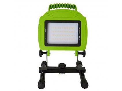 LED přenosný dobíjecí reflektor 20W/230V/3,7V-8800mAh/6400K/1600Lm/120°/IP44