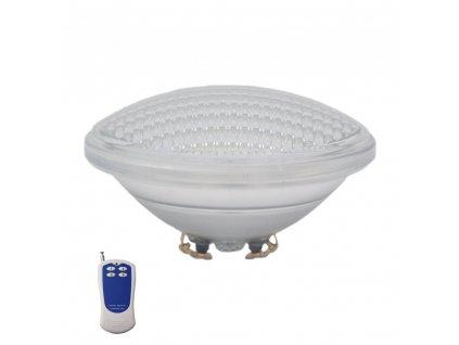 SMD LED reflektor PAR56 do bazénu 8W/12V/RGB/800Lm/120°/IP68, dálkové ovládání