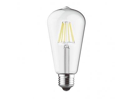 Retro LED Filament žárovka ST64 Clear 8W/230V/E27/2700K/800Lm/300°/Step Dim