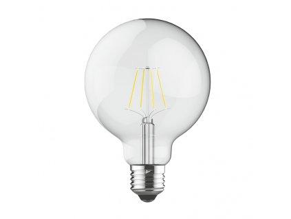 Retro LED Globe Filament žárovka čirá G95 7W/230V/E27/2700K/600Lm/360°