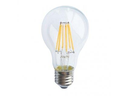 Retro LED Filament žárovka A60 Clear 6W/230V/E27/4000K/700Lm/360°/DIM