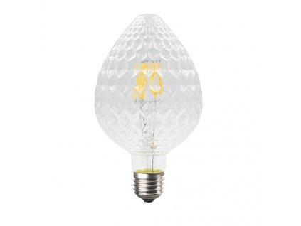 Retro LED Filament žárovka Clear Decor MAVA 6W/230V/E27/2700K/690Lm/360°/DIM