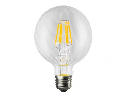 Retro LED Filament žárovka Clear Decor BRIA G100 6W/230V/E27/2700K/690Lm/360°/DIM
