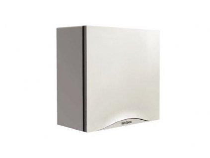 EDV radiální ventilátor SILENT ECO U 100 H IPX5, bílý