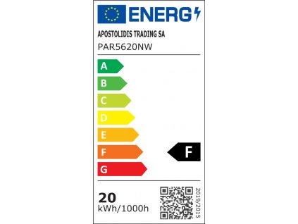 SMD LED reflektor PAR56 do bazénu 20W/12V AC-DC/4000K/1760Lm/90°/IP68/A+
