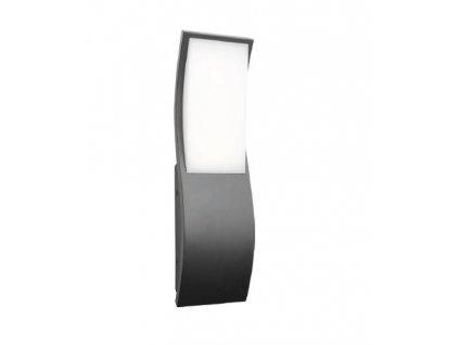 Zahradní nástěnné LED svítidlo CARVO 7W/230V/3000K/520Lm/120°/IP65, tmavě šedé