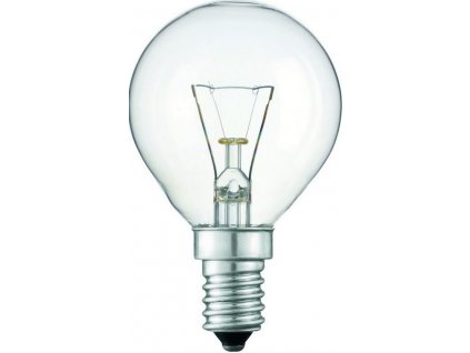 Kapková žárovka P45 60W/E14/230V čirá