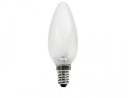 Svíčková žárovka C35 25W/E14/230V matná