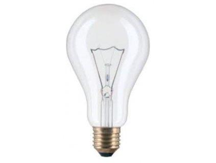 Žárovka čirá A60 150W E27 230V
