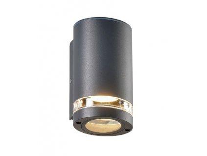 Zahradní nástěnné svítidlo MELITTA max. 35W/GU10/230V/IP54, tmavě šedé