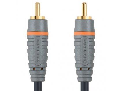 CINCH konektor - CINCH konektor, Digitální koax audio kabel, 5m