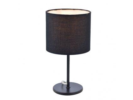 Stolní lampa ARIOSO max. 40W/E14/230V/IP20, černá