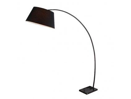 Stojací lampa LENNON max. 60W/E27/230V/IP20, černá