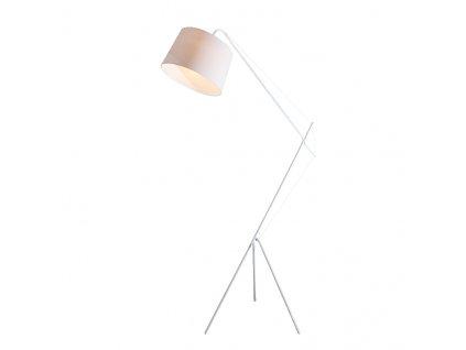 Stojací lampa ANDALUSIA max. 60W/E27/230V/IP20, bílá