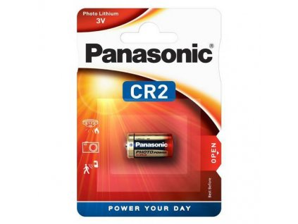 Baterie CR2 Panasonic Lithium Power 3V 1ks (blistr)