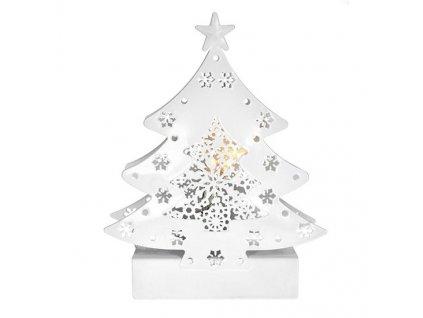 LED kovový vánoční stromek, 2x baterie AA, IP20