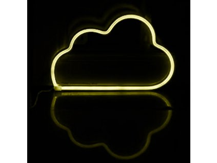 Neonová lampička - Mráček, 3x AA baterie