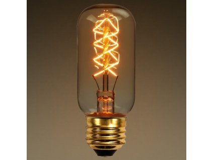 EDISON Retro Carbon Filament žárovka T45 E27 40W