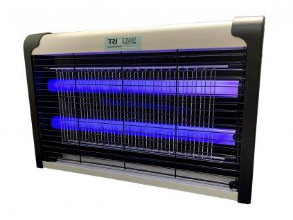 Elektrický UV lapač hmyzu 2x6W, dosah 40m