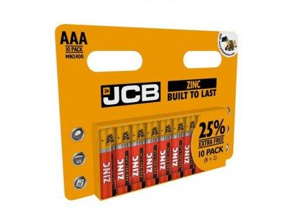 Baterie zinko-chloridová AAA/R03 JCB 10ks (blistr)
