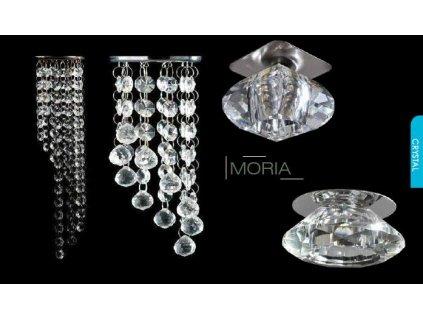 Zápustné svítidlo MORIA max. 50W/MR16/GU5.3/230V/IP20