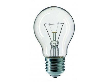 Žárovka čirá A55 60W E27 230V