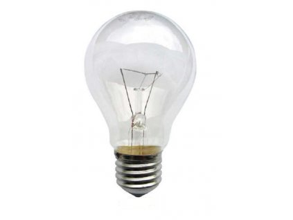 Žárovka čirá A55 100W/E27/230V