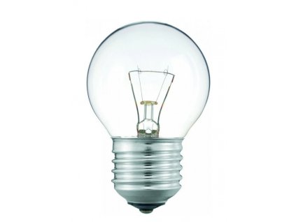 Žárovka iluminační čirá BALL P45 25W E27 230V