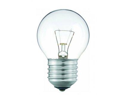 Žárovka iluminační čirá BALL P45 40W E27 230V